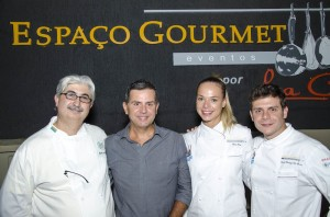 Chef Almir da Fonseca and socios Space Gourmet / photo credit: Fernando Nobre