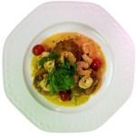 Chef, Gastronomy, Consultant Almir Da Fonseca plate