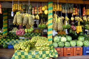 Foods from the Amazon.