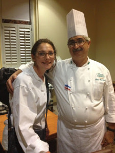 Lauren & Almir at the Culinary Institute of America at GreyStone.